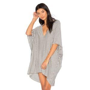 NWOT Riller & Fount Lola Stripe Caftan Mini Dress